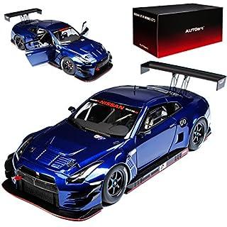alles-meine.de GmbH Nissan Skyline R35 GT-R Nismo GT3 Aurora Blau 81584 1/18 AutoArt Modell Auto