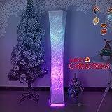 Moderne Stehlampe mit Stoff-Shades, Fy-Licht 52-Zoll-zeitgenössischen Design Standing LED Stehlampe für Wohnzimmer, Schlafzimmer, Haus, Büro(Euro Stecker)