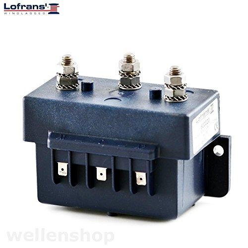 wellenshop Lofrans Control Box Steuereinheit für Ankerwinden 12V 500-1700W -