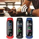 YAGAIU Inseguitore di Fitness Intelligente del Monitor di frequenza del Polsino di Sport di Bluetooth Impermeabile Smartwatch
