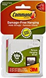 Command Small and Medium Picture Hanging Strips Value Pack, 4 pairs small, 8 pairs medium