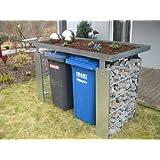 Mülltonnenverkleidung Mülltonnenbox Müllboxen Metall