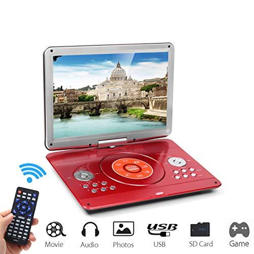 Reproductor De DVD Portátil De 14.1 Pulgadas
