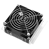 Hilitand 12V-Halbleiter-Kühlung Thermoelektrischer Kühler Kühlmodul mit Lüfter