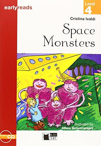 Space monsters. Con audiolibro (Primaria.English letture) - 9788877544650