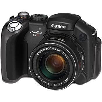 Canon Powershot S3 IS Digital Camera[6MP 12 X Optical]
