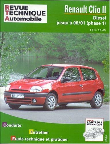 Revue technique automobile, 624.2 : Renault Clio 2 diesel, Phase 1, jusqu'à 06/01