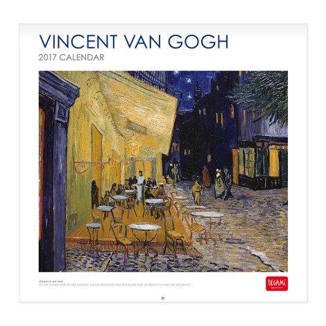 legami 30x 29cm'4stagioni 2017calendar-p Vincent Van Gogh