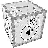 'Ein Halber Apfel' Klar Sparbüchse / Spardose (MB00055313)