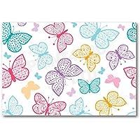 Papel pintado A4 para tarta – NDW43 mariposa