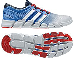 Adidas men's running shoes adipure Crazy Quick M blue fabric blue size 8,5