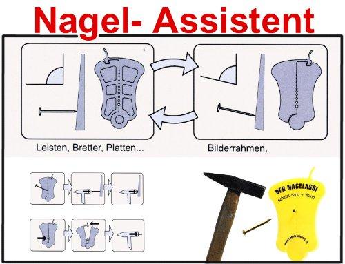 nd und Boden Nagel Assistent Händeschutz vor Hammer Werkzeug (Kopf Assistent)