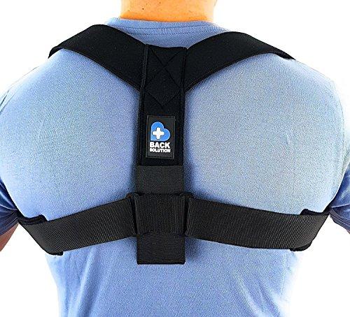 BACK SOLUTION Haltungskorrektur Rücken Geradehalter Schulter Rückenstütze für Damen und Herren