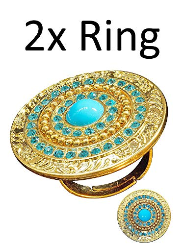 Widmann 2 x Ägypten Ring Cleopatra