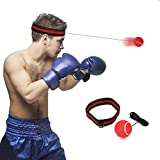 Boxen Training Ball, SGODDE Reflex Fightball, Speed Fitness Punch Boxing Ball mit Kopfband, Trainingsgerät Speedball für Boxtraining Zuhause und Outdoor