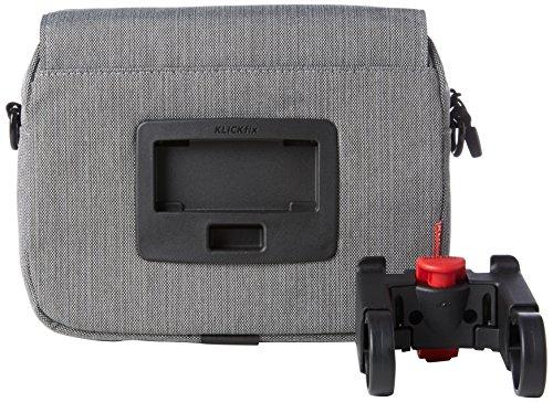 Rixen und Kaul KLICKfix Smartbag Touch - Lenkertasche Grau