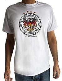 Irony Camiseta Para Hombre Football World Cup 2018 Russia Crust Print TS1133