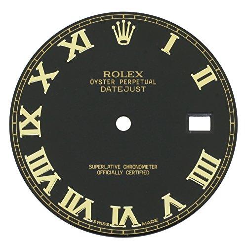 Rolex Datejust setzt II 116333BKRO 30mm schwarz Zifferblatt bicolor für 41mm Herren-Armbanduhr
