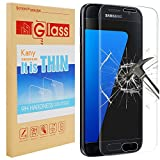 Galaxy S7 Edge Screen Protector, Kany 3D Ultra Thin 0.25mm Ultra 9 HD Clear Curved Tempered Glass Full Coverage Screen Protector Film for Samsung Galaxy S7 Edge