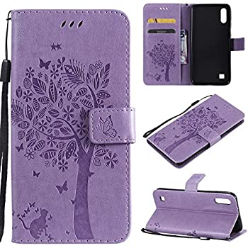 Samsung Galaxy A50 Phone Case Shockproof 3D Soft PU Leather Flip Notebook Wallet Cases with Magnetic Stand Card Holder Slot Folio TPU Bumper Protective Cover for Samsung Galaxy A50 Banana Leaf