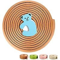 Gagaku universale 4,6m Edge Schermo con 1fermaporta a schiuma extra Cartoon Bambino Sicurezza–Kit in legno scuro