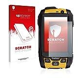 upscreen Scratch Shield Schutzfolie kompatibel mit RugGear RG500 - Kristallklar, Kratzschutz, Anti-Fingerprint