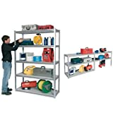 Clarke CS5265S 1. 2m Wide Span Boltless Shelving (Silver) - 6600640