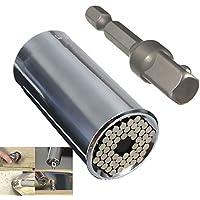 PedGeo ™-Adattatore universale A 2-Chiave Multi-Function-Set di utensili A mano, per fabbro-Kit di riparazione per cacciavite Adattatore 7-19 mm