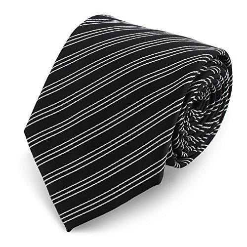 segbeautyr-57-extra-largo-corbata-negro-y-blanco-lazo-rayado-alta-calidad-poliester-manchar-corbata-