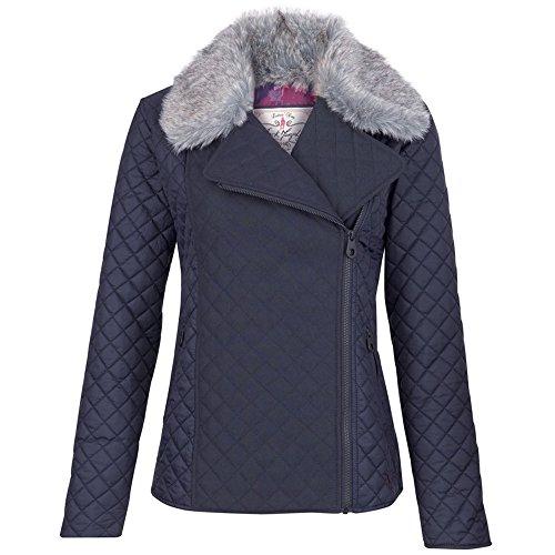Jack Murphy Womens/Ladies Paulina Shower Resistant Country Jacket Heritage Navy