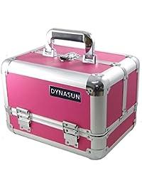 DynaSun - Maletín para cosméticos (aluminio, 31 cm)