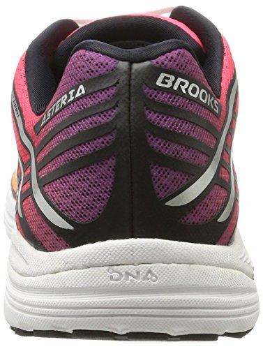 Brooks Asteria, Scarpe da Corsa Donna Multicolore (Plumcaspiadivapinkorangepop 1b871)