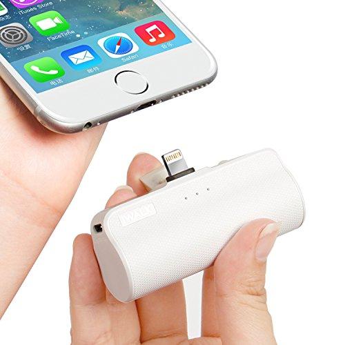iWALK 3300mAh Móvil Portátil Batería Externa, Ultra-Ligera Power Pack Compacto Power Bank Cargador Compatible para iPhone 5 6 7 8 Plus X SE XS y así