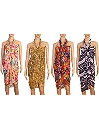 INDIAN FASHION GURU– Rakhi Special Sale Women's Beautiful Beach wear Sarong, Pareo, wrap Swimsuit Cover up