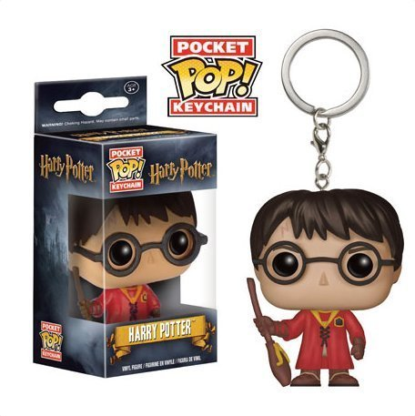 Preisvergleich Produktbild Funko Pocket Pop! Harry Potter in Quidditch Robes Keychain by POCKET POP