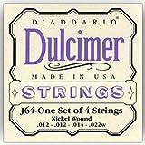 Daddario J64 Dulcimer - Jeu De Cordes