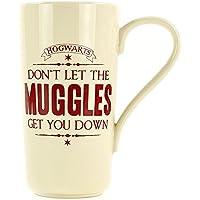 Harry Potter Latte Macchiato Becher MUGGLES Hogwarts Kaffeetasse Merch 500ml NEU