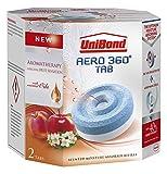 UniBond Aero 360 Moisture Absorber Energising Fruit Sensation Refill Tabs - Pack of 2