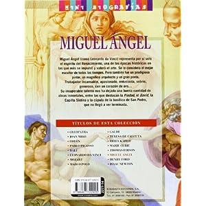 Miguel angel: 1 (Mini biografías)