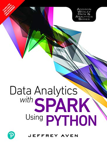 Data Analytics with Spark Using Python by Pearson