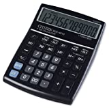 Citizen SDC4310 Calculatrice de bureau grande dimension Noir Glossy