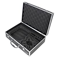 HMF 18713-02 Transport Case Suitable for Drone Hubsan H107C+, H107D, H107D Carrying Case, Hard Case, 36 x 25 x 11,5 cm