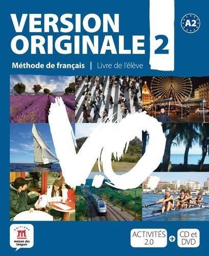 Version originale. Con CD Audio. Con DVD. Per le Scuole superiori: Version Originale 2 - Libro del alumno + CD + DVD