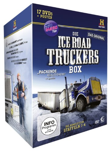 Die Ice Road Truckers Box (Staffel 1-4 plus Fan-Poster, History, limitiert und exklusiv bei Amazon.de) (17 DVDs)