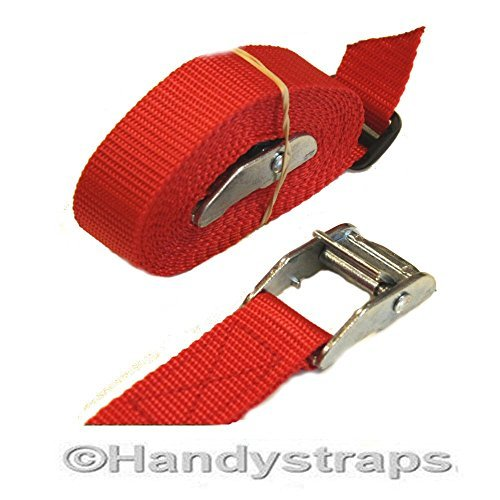 2-x-25mm-25-meter-med-luggage-trailer-tie-down-cam-buckles-car-roof-rack-straps-red