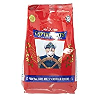‏‪Captain Oats Oat Pouch - 500 gm (Brown)‬‏