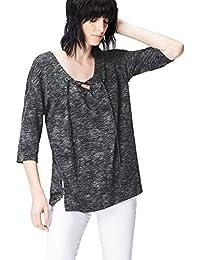 find. T- Shirt Col V Manches Longues Femme