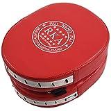 Moligh doll 2X Pastiglie da Allenamento Pastiglie da Allenamento Boxe Pastiglie Kickboxes Kick Pads Rosso