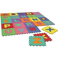 Alfombra infantil de juegos - Alfabeto de quita y pon - Goma EVA - Peluches y Puzzles precios baratos