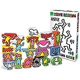 Figuras Vilac Keith Haring de apilamiento (18 piezas)